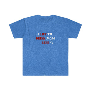 Drink A Beer (Fitted Short Sleeve Tee)