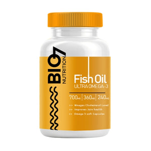 ULTRA OMEGA 3 - FISH OIL CAPSULES