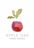 Apple Oak Fibre Works Logo