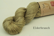 Yeti - Yak and Silk yarn Elderbranch green