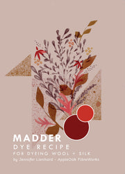 Madder dye recipe Booklet