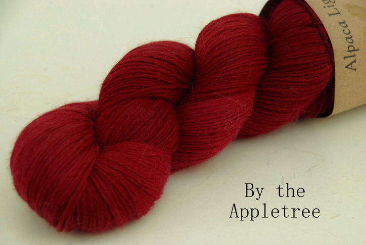By the Apple Tree Light Alpaca Yarn