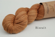 Biscuit - Catechu dyed Alpaca Yarn