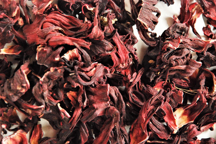 Whole dried hibiscus Flowers