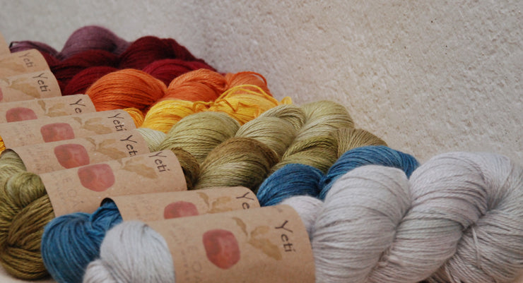 Collection of yeti yarn