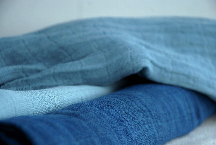 Organic Cotton Gauze Naturally Dyed
