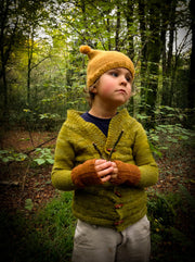 A Story of Forest Friends Pattern C.R. Cardigan