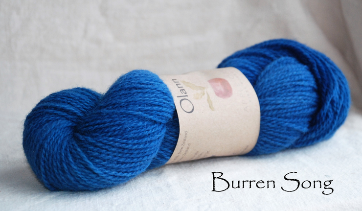 Burren Song Olann Naturally dyed Irish Wool Yarn
