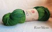 River Moss Olann Naturally dyed Irish Wool Yarn
