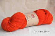 Fox in the Snow Olann Naturally dyed Irish Wool Yarn