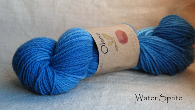 Water Sprite Olann Naturally dyed Irish Wool Yarn