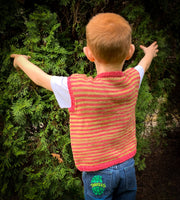 A Story of Forest Friends Pattern Piglet Vest