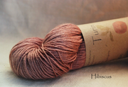 Turin Hibiscus naturally dyed yarn