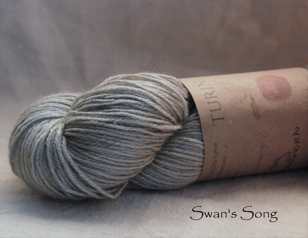 Turin ~ Swan's Song ~ naturally dyed yarn