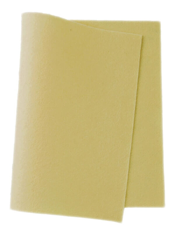 Felt Soft Yellow 616
