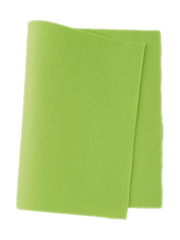 Felt Spring Green Colour 625