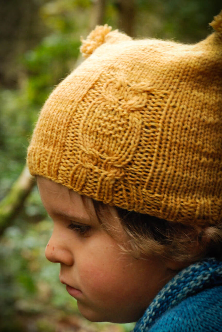 A Story of Forest Friends Pattern Owl's hat