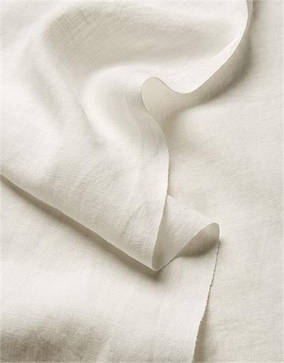 Natural Linen fabric oxygen bleached