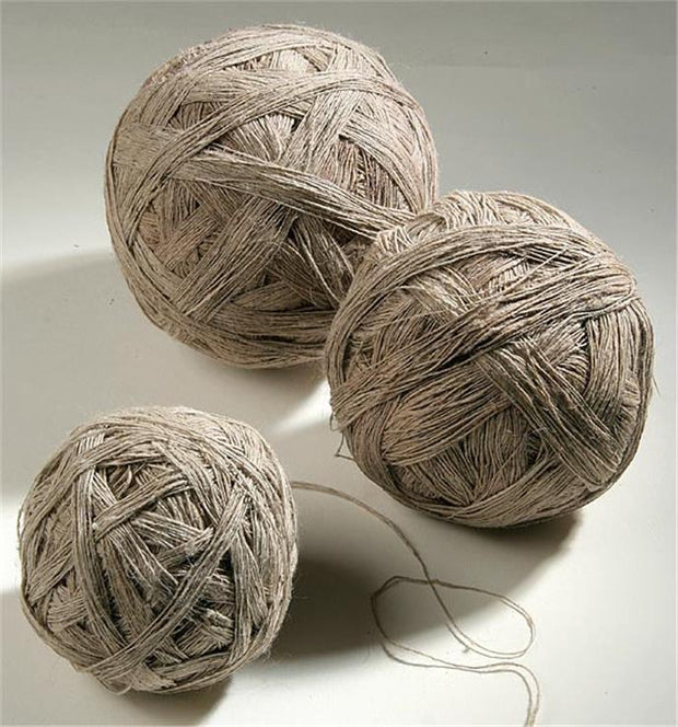 nettle yarn in ball form