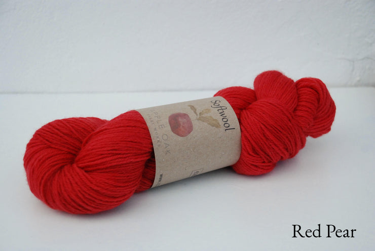 Softwool Colour ~ Red Pear