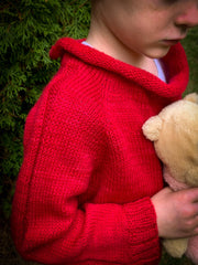 A Story of Forest Friends Pattern Pooh Sweater