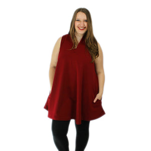 The Samantha - Burgundy (M-3X)