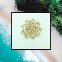 Load image into Gallery viewer, Crocheted Coaster Set - Beachside