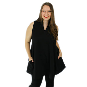 The Samantha - Black (M-3X)