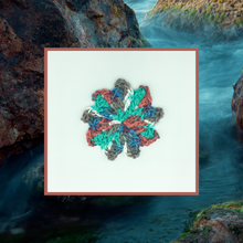 Load image into Gallery viewer, Crocheted Coaster Set - Creekside