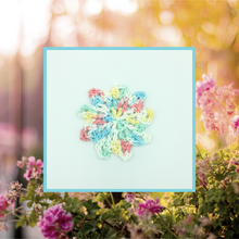 Load image into Gallery viewer, Crocheted Coaster Set - Flower Garden