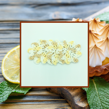 Load image into Gallery viewer, Crocheted Coaster Set - Lemon Meringue