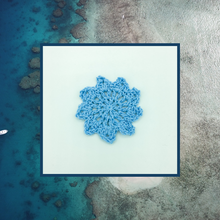 Load image into Gallery viewer, Crocheted Coaster Set - Ocean Sand