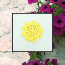 Load image into Gallery viewer, Crocheted Coaster Set - Petunia