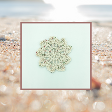 Load image into Gallery viewer, Crocheted Coaster Set - Precious Stone