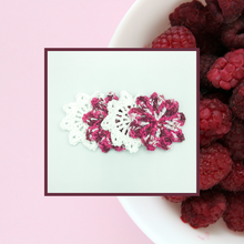 Load image into Gallery viewer, Crocheted Coaster Set - Raspberry