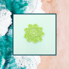Load image into Gallery viewer, Crocheted Coaster Set - Seaside