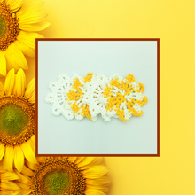 Load image into Gallery viewer, Crocheted Coaster Set - Sunburst