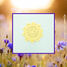 Load image into Gallery viewer, Crocheted Coaster Set - Sunlight