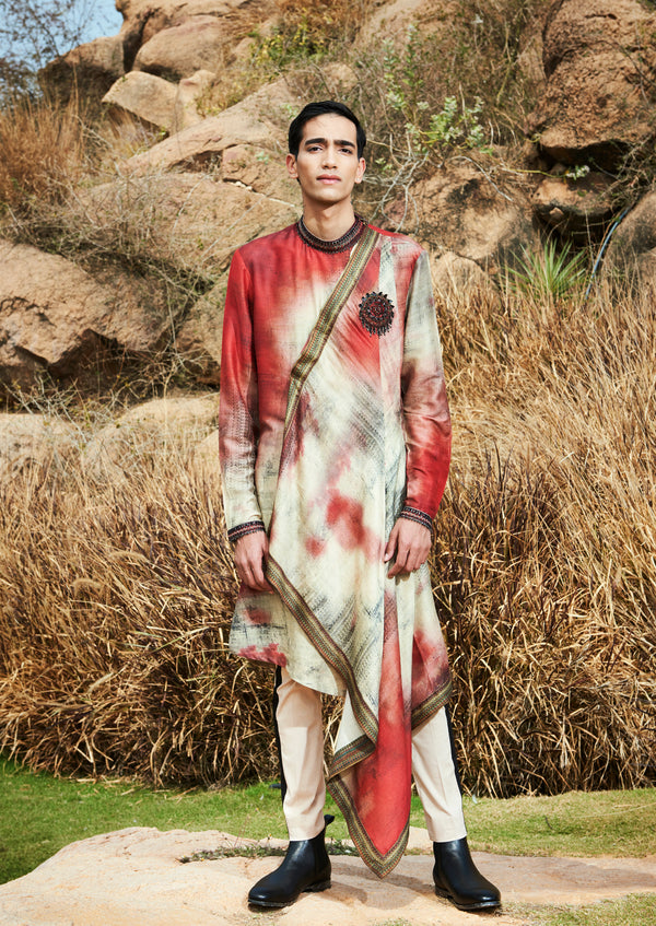 FREE SPIRITED FAL KURTA SET