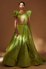 Load image into Gallery viewer, Lehenga (Lime Green)
