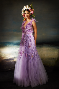 Classic Gown (Lilac)