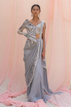 Load image into Gallery viewer, Grey Georgette Dress