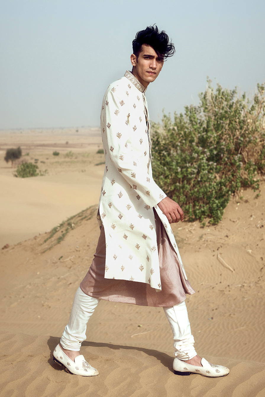 Scattered Motifs Sherwani