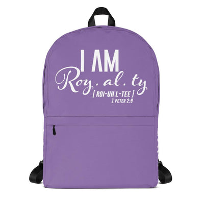 I Am Royalty Backpack - Vision Apparel Inc.