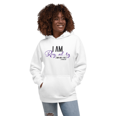 I AM Royalty Hoodie - Vision Apparel Inc.