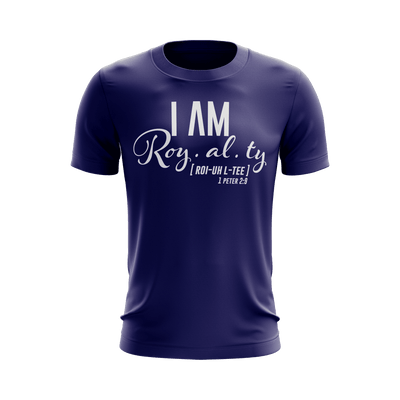 I Am Royalty Shirt (Purple) - Vision Apparel Inc.