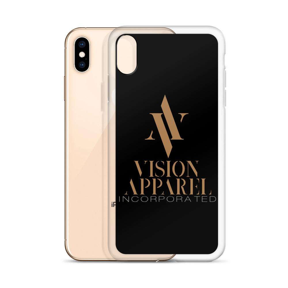 Vision Apparel Logo iPhone Cases - Vision Apparel Inc.