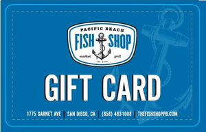 $50 Pacific Beach Gift Card