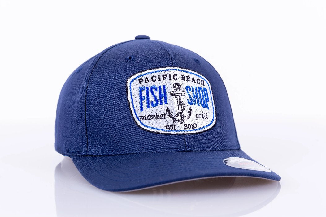 Fish Shop Pacific Beach FlexFit Hat