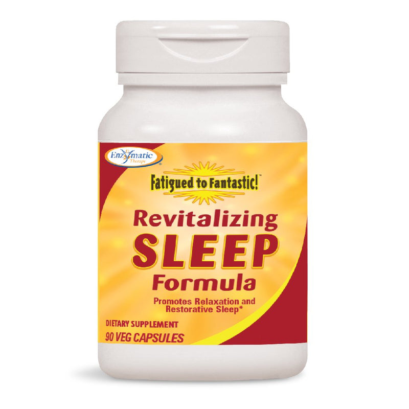 Enzymatic Fatigued to Fantastic Revitalizing Sleep Formula 90 Vcaps